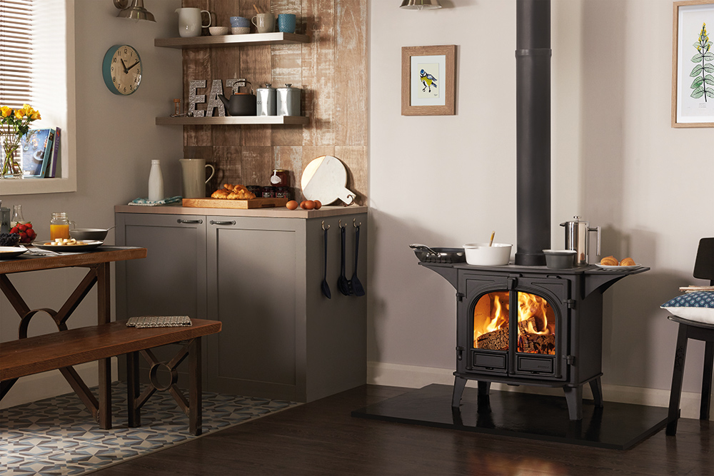 Stovax Stockton 8 Wood Burning Cook Stove The Stove